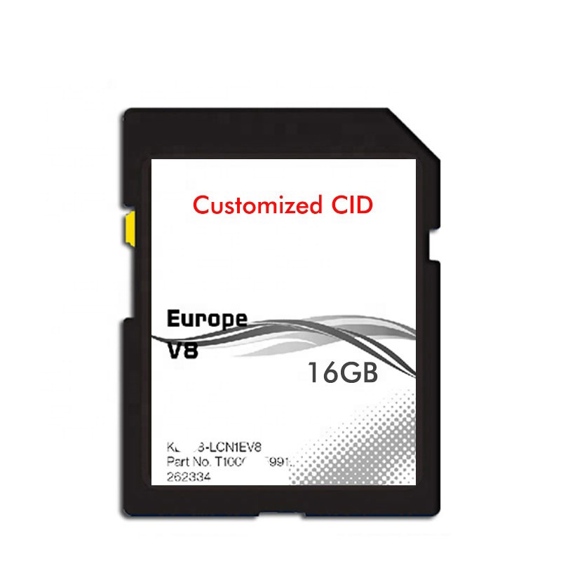 free shipping car GPS change cid 4gb sd memory card for navigation