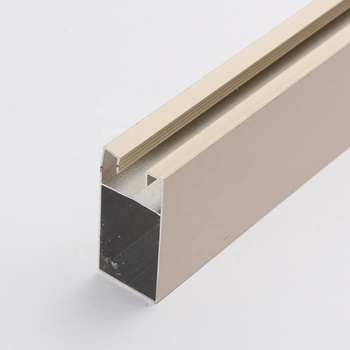 China New Products Price Casement Window Frame Triangle Bronze Anodized Hollow U Shape 6063 Aluminum Extrusion Profile