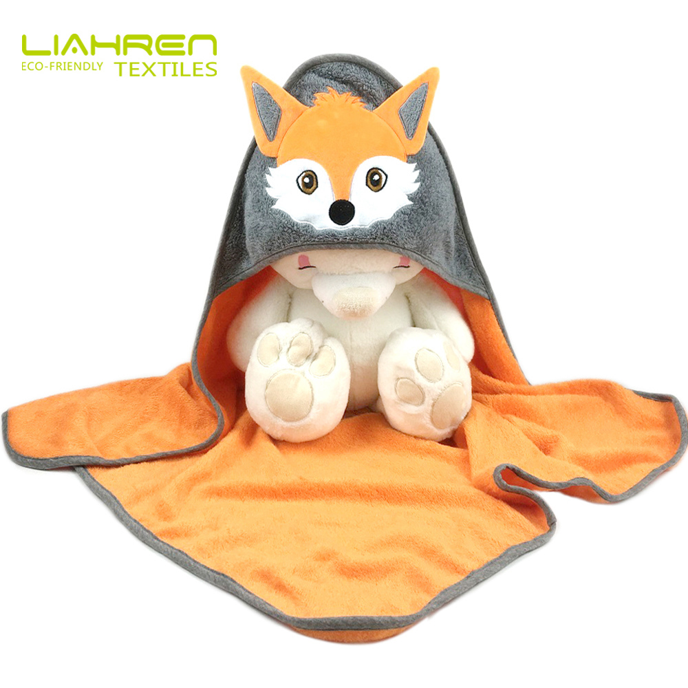 bamboo hooded baby <strong>towel</strong> with animal cute design for baby hooded bath <strong>towel</strong>