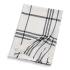 Ladies cape checked woven stoles scarves blanket pashmina cashmere shawl