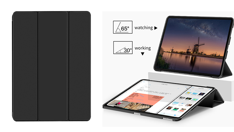2020 new item tablet case for ipad Pro 11 case with pencil holder,for casing ipad 9,for 2018 newest ipad 9.7 cover