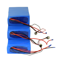 Rechargeable 36V 30AH 18650 Lithium Ion Battery for 500W Motor