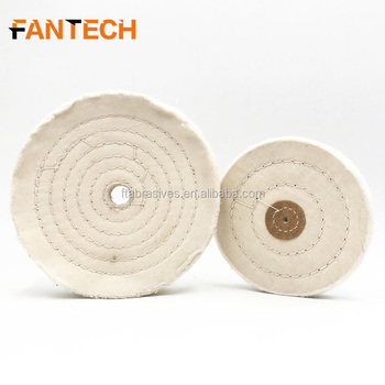 Jewelry buff with pure cotton cloth for jewelry polishing