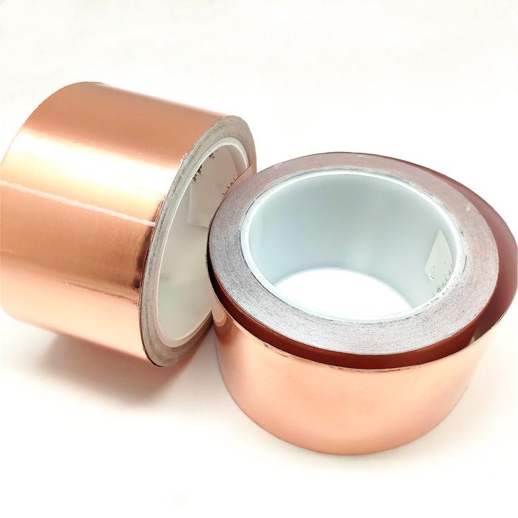 metallic rfid material blocking Silver fiber conductive fabrics tape designed