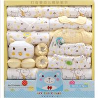 TBCS-336 Wholesale baby clothes cotton bedding seamless newborn babies full set clothes set for gift