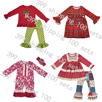 Boys Clothing Sets Baby girl clothing sets long Sleeve dress fall and winter wholesale clothing