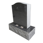 Cheap Upright Chinese Granite Cemetery Headstone