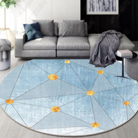 Modern design nordic living room tea table round rugs