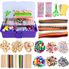 MACTING 1358Pcs Craft Kits for Kids Ages 4-8, Art Craft Supplies All in One DIY Toddler Crafts Set