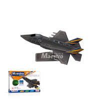 Fun 3d puzzle DIY paper toy plane EPS foam aeroplane model f35 f16