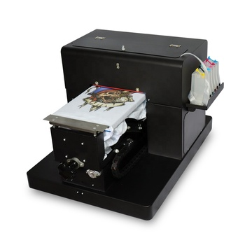 a4 Digital Direct To Garment flatbed Printer 3d T Shirt Printing Machines for Sale