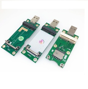 Mini PCIe To USB Adapter for 3G/4G WWAN and WiFi (USB Type) Card Mini PCI-E To USB Mini Pcie To Pcie