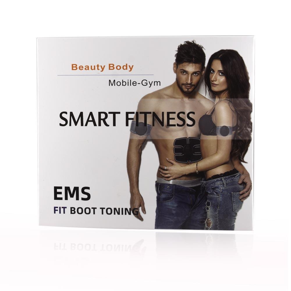 2018 ems muscle stimulator wireless abs bodybuilding ems fitness machines body shaper abdominal muscle training machine