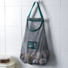 2020 New custom knitting bags polyester fruit and vegetable net bag storage organizer