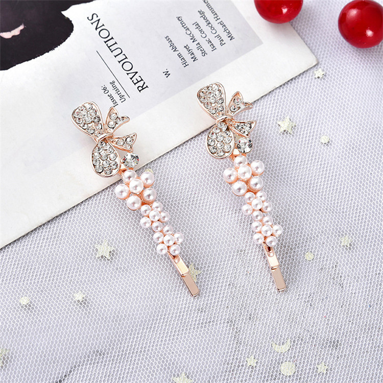 Good quality wholesale multi shapes heart butterfly flower crown shapes alloy girls kids hair pin