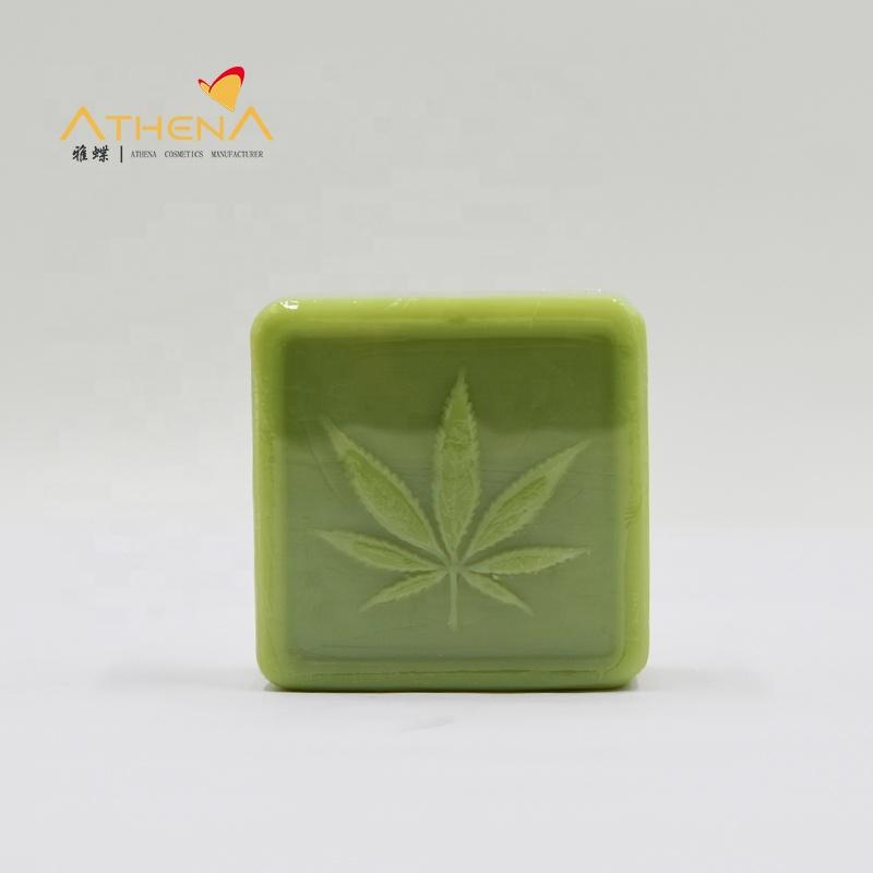 Guangzhou Manufacturer Hemp handmade CBD facial &body organic natural soap