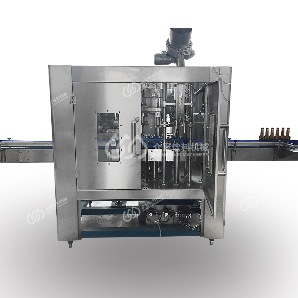 Washing Filling Capping Heads For Sparkling Water Water Bottling Plant From Chinese Suppliers