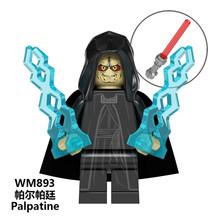 Dark Rey Legoed Звездные Войны Имперский ребенок йода мандалориан Рей Финн Палпатин люк строительные блоки Скайуокера детская игрушка подарок WM890(Китай)