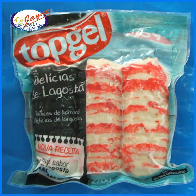 High quality frozen sea food surimi lobsters with surimi content 42%