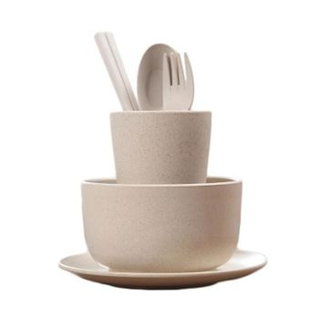 Porcelain Set Plastic Home Good Top Choice Eco Friendly Christmas Biodegradable Dinnerware