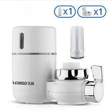 Xiaomi Chigo очиститель воды кран фильтр прямая питьевая вода бытовой фильтр для воды очиститель очистки для кухни воды(Китай)