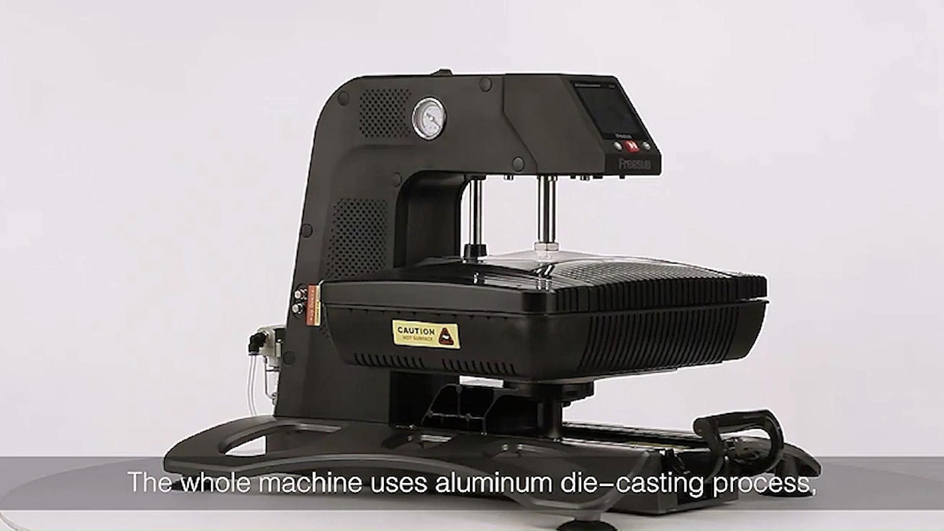 Freesub pneumatic 3d sublimation vacuum heat press machine digital mug t-shirt phone case printing machine price ST-420