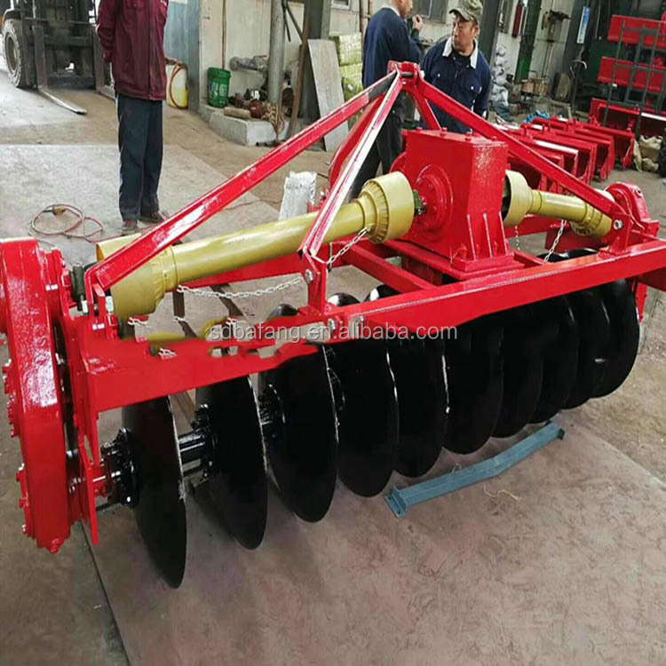 1LYQ Series Driven Disc Plough With Tractor 8 Disc Plow For Sale