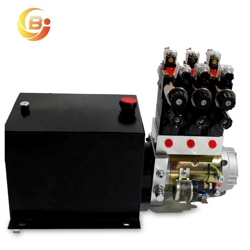 12V özelleştirilmiş güç paketi pompası mikro hidrolik güç ünitesi