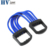 Adjustable chest expander muscle training resistance tube