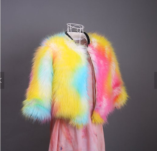 Winter Baby Girls Fur Coat Kids Faux Fur Jacket Coats Thick Warm Parka Outerwear