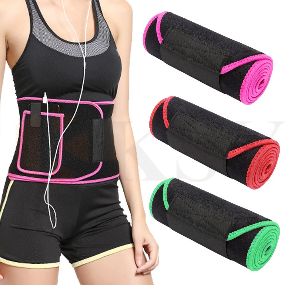 Custom tummy belt sweet waist trimmer sweat belt for weight loss