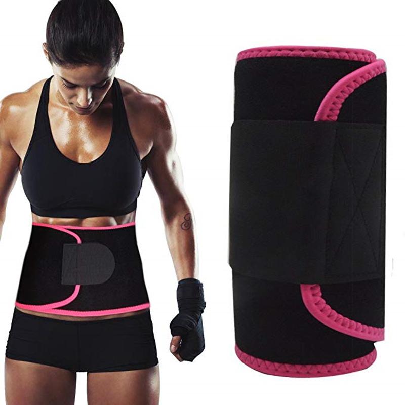 לוגו מותאם אישית Slim מותניים זיעה סאונה חגורת נשים Neoprene בטן חגורת הרזיה לירידה במשקל