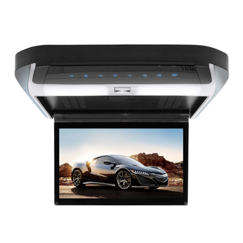 factory price 10 inch car ceiling monitor HDMI car flip down roof tv monitor dvd player