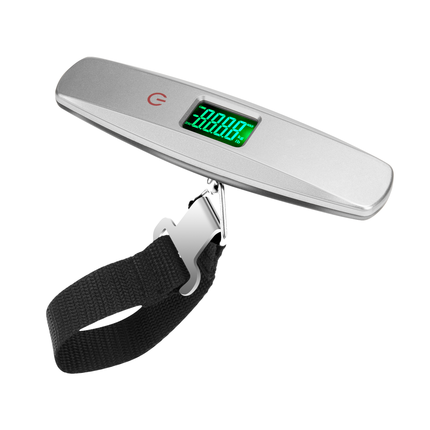 Touch Button Airport Travel Bag Weighing 50KG Digital Hanging Portable Luggage Scale Handheld