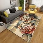Popular in Malaysia Livingroom Decorations Home Center Carpet Flower Shaped 3d Rug
