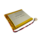 454045 3.7V smallest lipo 900 mAh thin Flat cell lithium ion rechargeable battery with U L, CB, KC, BSMI certificate
