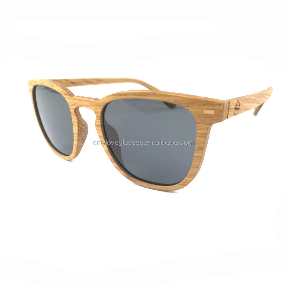 Nice design polarized wood veneer sunglasses