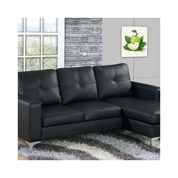 Wholesale Black Pu Corner Sofa In Cheap Price - Buy Wholesale Corner  Sofa,Black Pu Corner Sofa,Corner Sofa In Cheap Price Product on Alibaba.com
