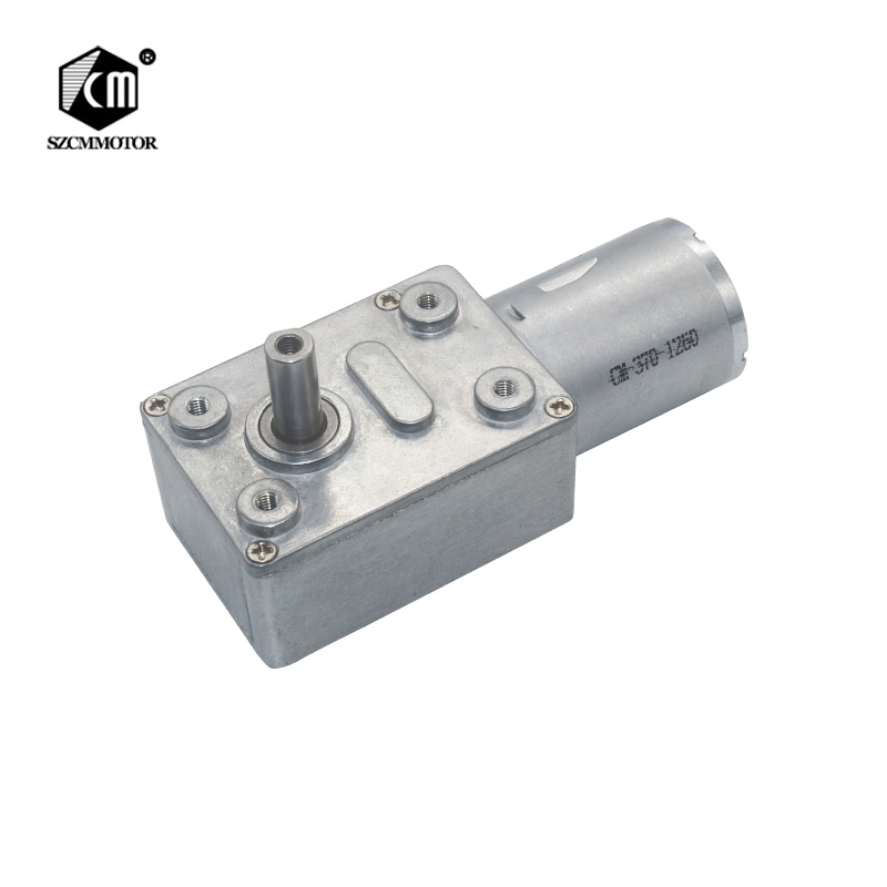 Worm gear motor low rpm hobby 12v dc motor