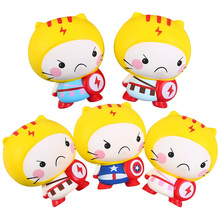 Cartoon Lightning Boy Squishy Toy Pinch Music Wholesale Factory Direct Sell Novelty Artifact Custom