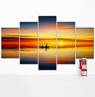 5pcs/set Hot Selling Canvas Art Modern Home Wall Decorative HD Print Painting no frame