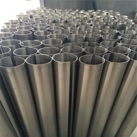 Medical Application Free samples grade 1 pure titanium pipe for exhaust tube