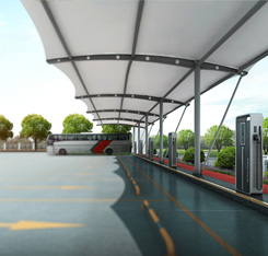 Car charging station wallbox ev charger station for car