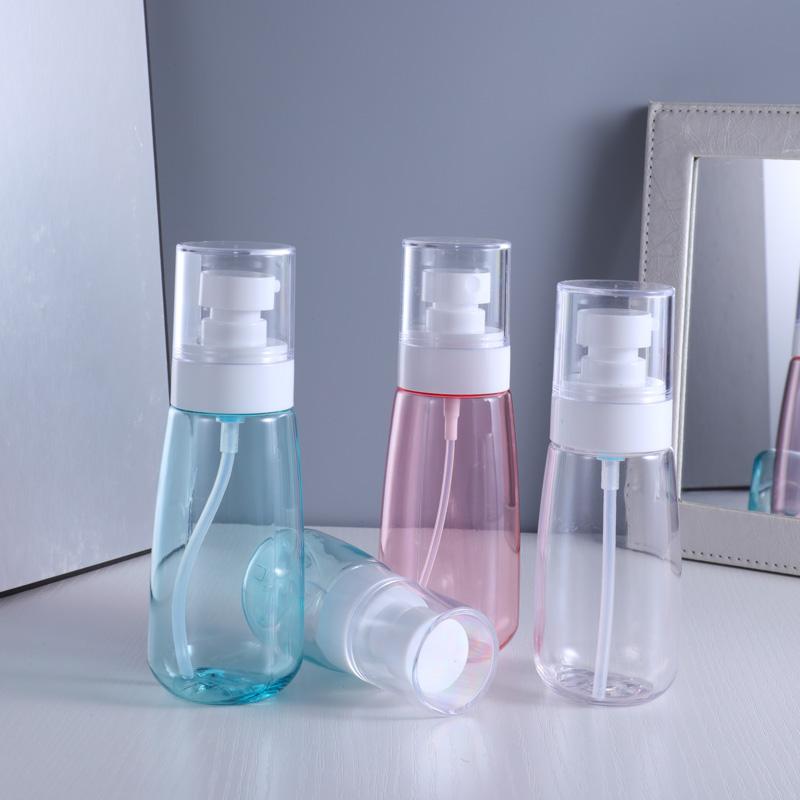 100ml Portable Empty Pump Bottle Plastic Storage Bottle For Travel Bottle Shampoo Cosmetic Lotion Packing