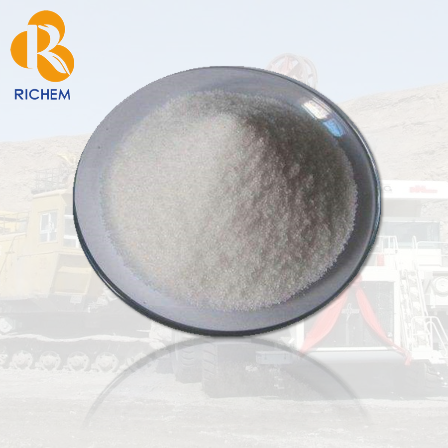 [RICHEM]PAM/APAM <strong>anionic</strong> <strong>polyacrylamide</strong> for coal washing/beneficiation/mineral seperator/prospecting as <strong>flocculant</strong> CAS 9003-05-8