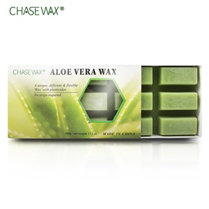 Organic 500g Aloe Vera Depilatory Wax Block Private Label Wax Hair Removal Wax