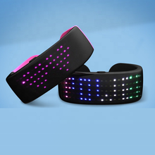 Nieuwigheden 2020 Kerst <span class=keywords><strong>concert</strong></span> custom knipperende led polsband light up rave party led armband voor festival