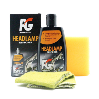 PG Perma Glass 1-Step Headlamp Headlight Restorer (100ml)