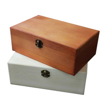 Cigar box humidor cigar box American living room wooden tea table small wooden office desktop box