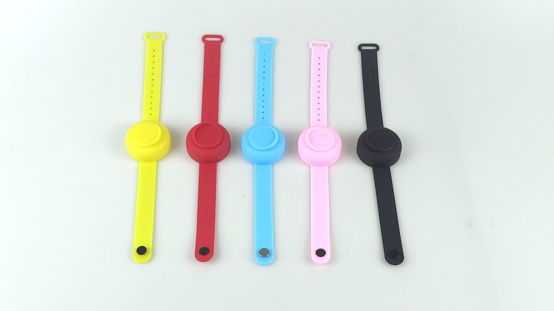Wholesale Wristband Sanitizer Dispenser Pulsera Desinfectar Child Filling Wrist Hand Sanitizer